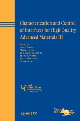 Characterization and Control of Interfaces for High Quality Advanced Materials III - Makio  Naito